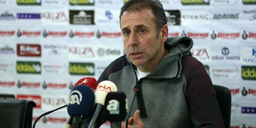 Abdullah Avcı: Belki haftanın en fazla orta yapılan maçını oynadık ama sonuç alamadık