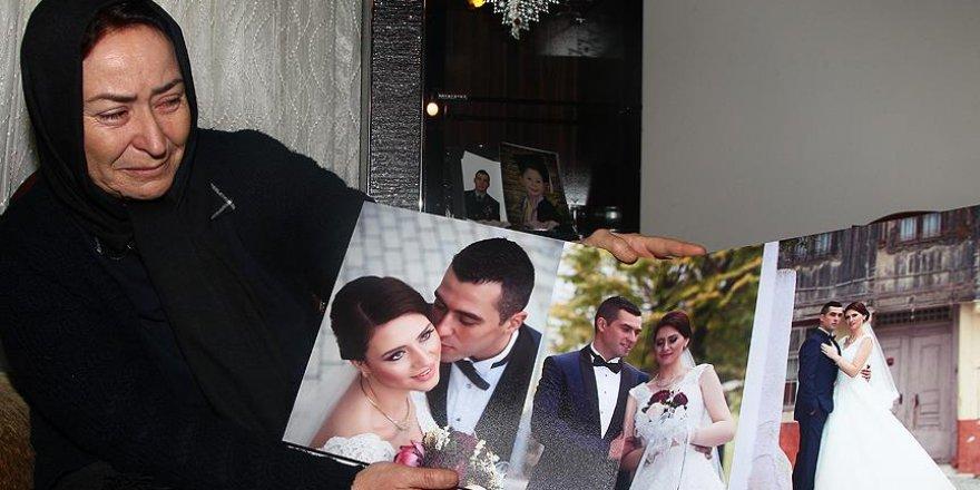 'Oğlum düğün fotoğraflarını göremeden şehit oldu'