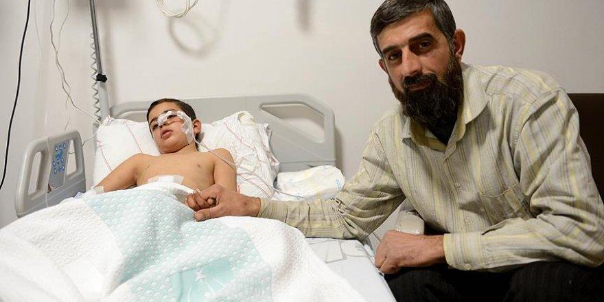 'Türk askeri olmasaydı oğlum ölmüştü'