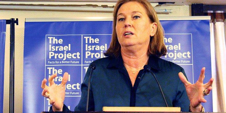 Livni: Netanyahu, İsrail devletinin geleceğini ipotek ettİ