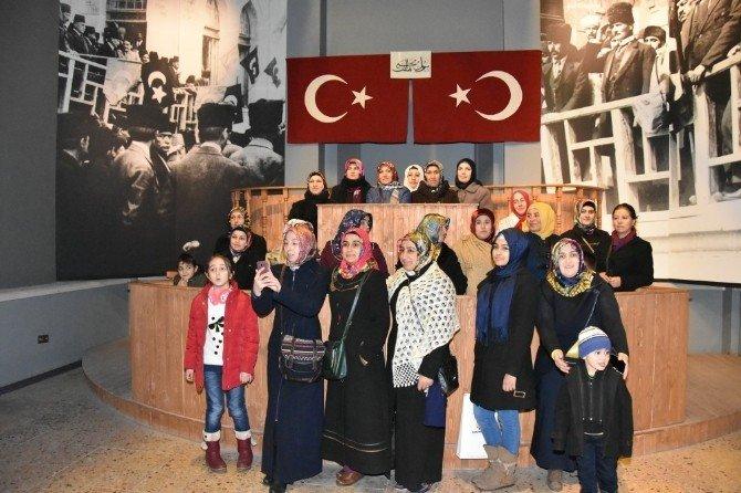 Kocasinan Belediyesi Kursiyerlere Müzeleri Gezdirdi