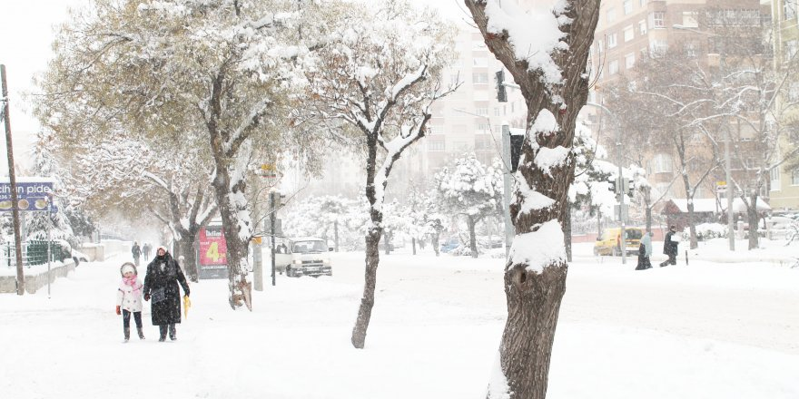 Meteorolojiden Konya ve çevresine yoğun kar yağışı uyarısı