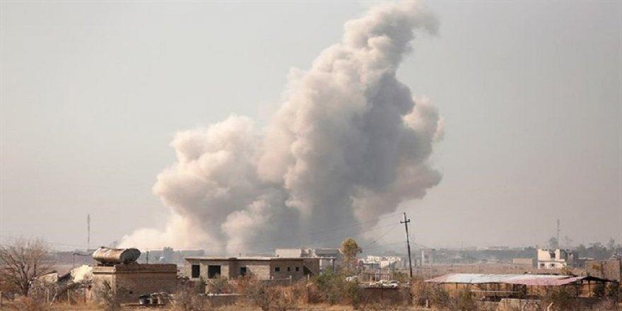 Musul'un batısında halk pazarı vuruldu: 20 ölü