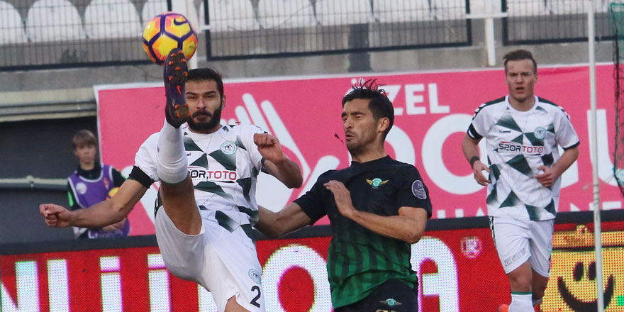 Konyaspor 6 maç sonra mağlup oldu