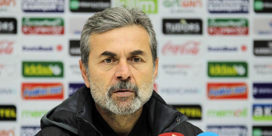 Aykut Kocaman: Maçı kaybettiğimiz için üzgünüz