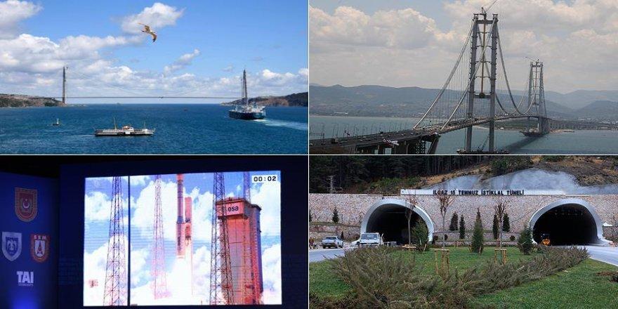 2016 dev projelerin yılı oldu
