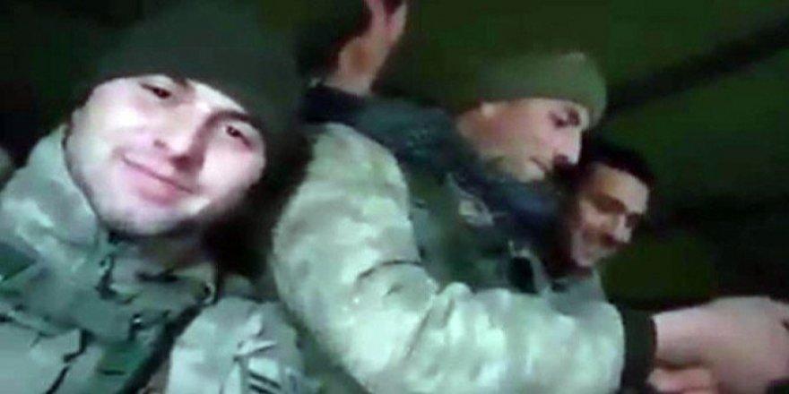 El Bab şehidinin Suriye'ye giderken türkü söylediği görüntüler yürekleri dağladı