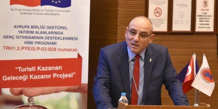 """'Turisti Kazanan, Geleceği Kazanır Projesi"""""""