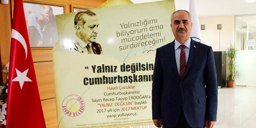 Erdoğan'a yeni yılda 2017 destek mektubu