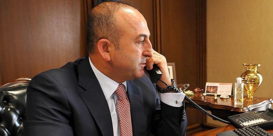 Çavuşoğlu Rus mevkidaşı Lavrov ile telefonda görüştü