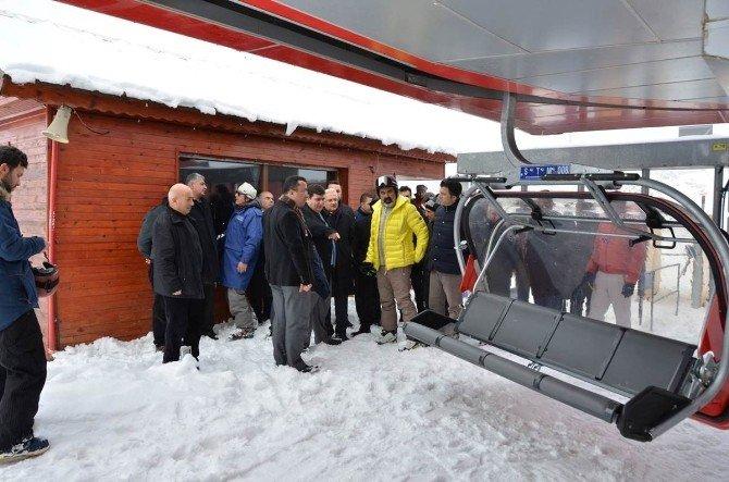 Ergan Dağı Kayak Merkezi kayak sezonunu açıyor
