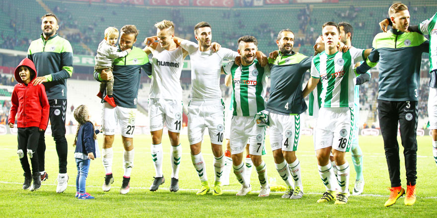 Konyaspor sonradan açıldı