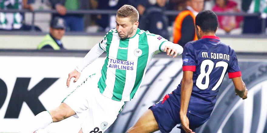 Konyaspor'da Skubic formayı çıkarmadı