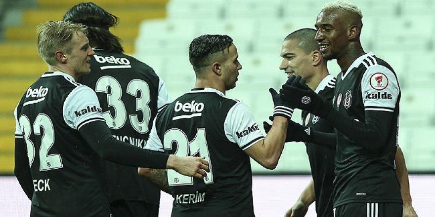 Beşiktaş, Boluspor'dan istediğini aldı