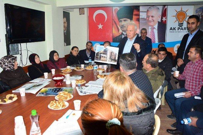 Lapseki'de genişletilmiş yönetim kurulu toplantısı