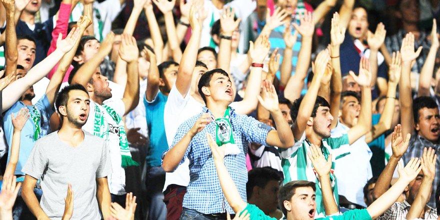 Taraftar oranında Anadolu'nun hükümdarı Konyaspor