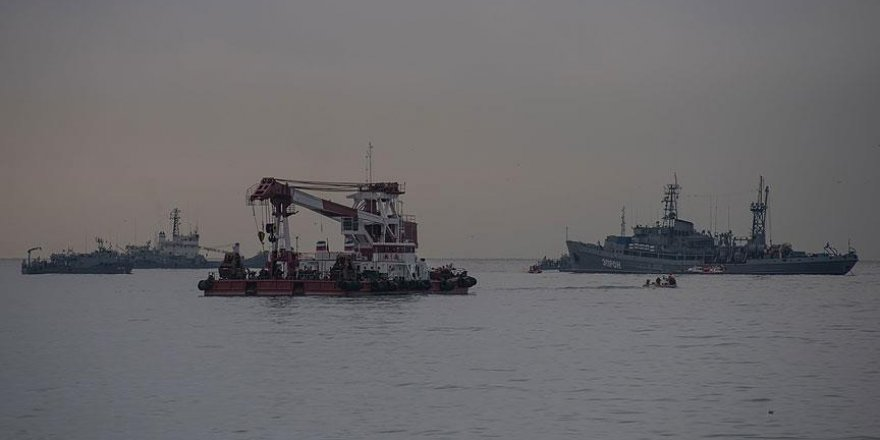 Karadeniz'e düşen Rus uçağının ikinci karakutusu bulundu