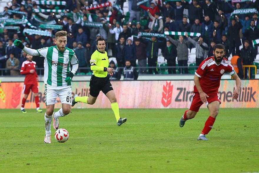 Konyaspor farka koştu! 3-0
