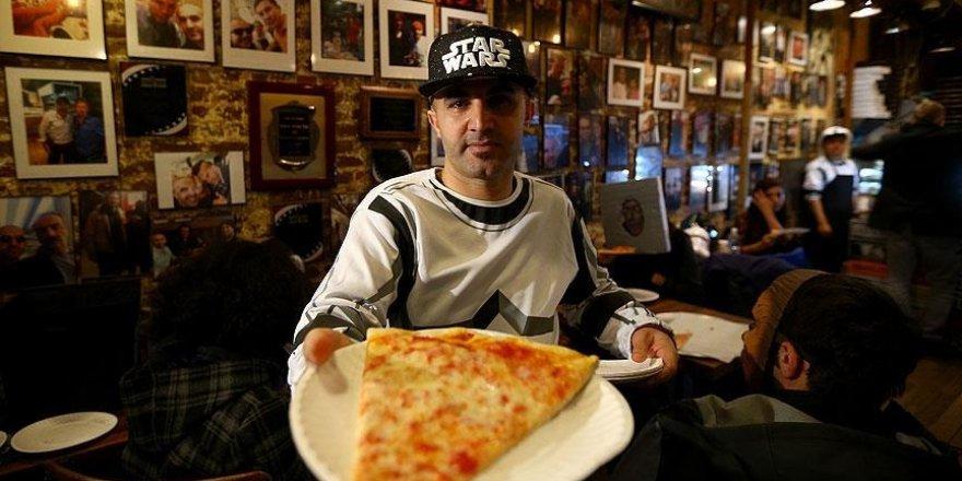 ABD'de Diyarbakırlı pizzacı,'Prenses Leia' için pizza dağıttı