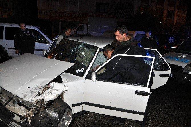 Polisten kaçan alkollü sürücü, kaçtığına pişman oldu