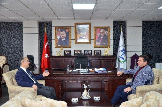 Kaymakam Yaman'dan Başkan Bakıcı'ya ziyaret