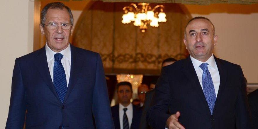 Çavuşoğlu Lavrov ile görüştü