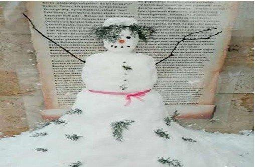 Kardan gelin görenleri hayrete düşürdü