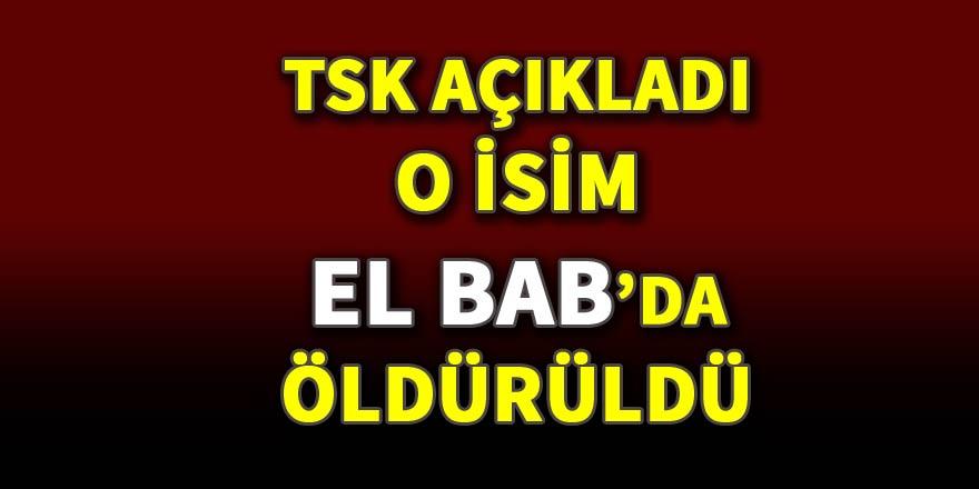 TSK: DEAŞ yöneticilerinden Ebu Ensari öldürüldü