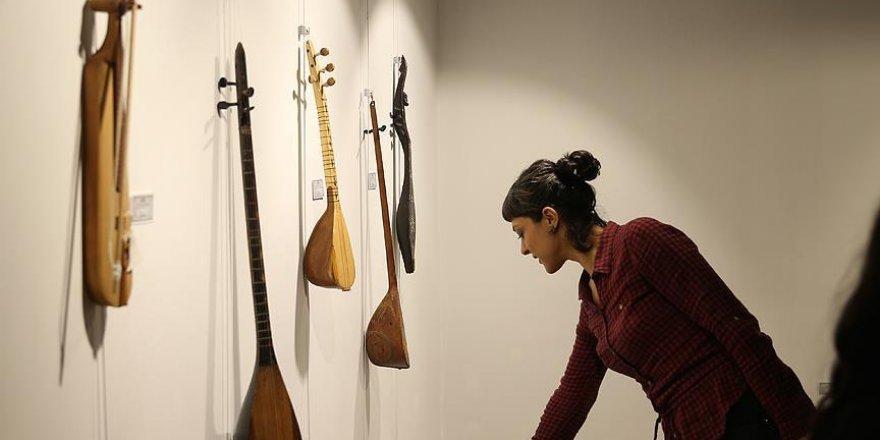 'Dünyanın enstrümanı' Gaziantep'te sergilendi