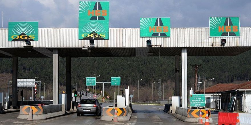 Otoyol ve boğaz köprüleri geçiş ücretlerinde güncelleme