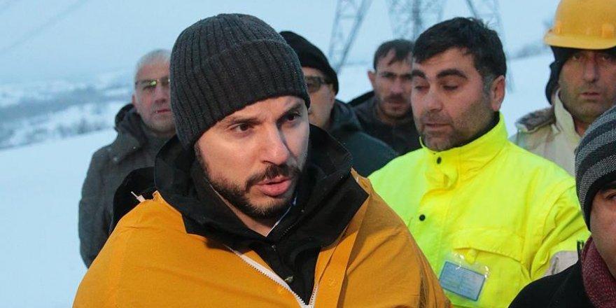 Albayrak: İstanbul'u besleyen ana omurga hattımız koptu