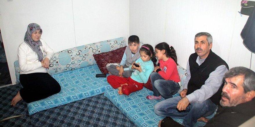 Türkmen kampında buruk yılbaşı