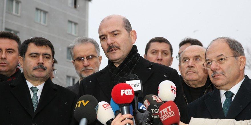 Bakan Soylu: Saldırıyı gerçekleştiren bir kişi