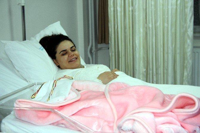 Bursa'da yeni yılın ilk bebeği 'Gökalp' oldu
