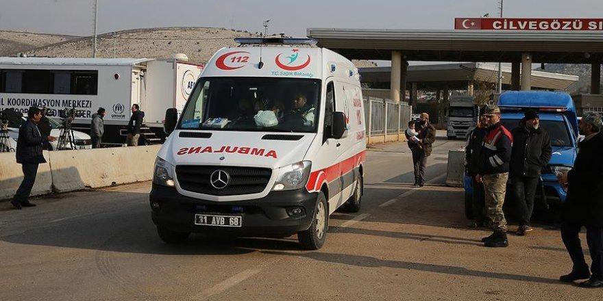 Halep'ten Hatay'a getirilen yaralı sayısı 335'e ulaştı