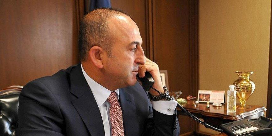 Çavuşoğlu çok sayıda mevkidaşı ile telefonda görüştü