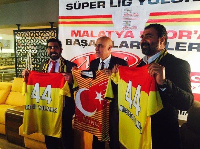 Evkur Yeni Malatyaspor'a yeni sponsor