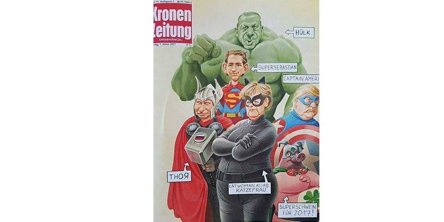 Cumhurbaşkanı Erdoğan'ı Hulk'a benzettiler