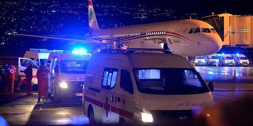 Saldırıda hayatını kaybeden Lübnan vatandaşları Beyrut'a ulaştı