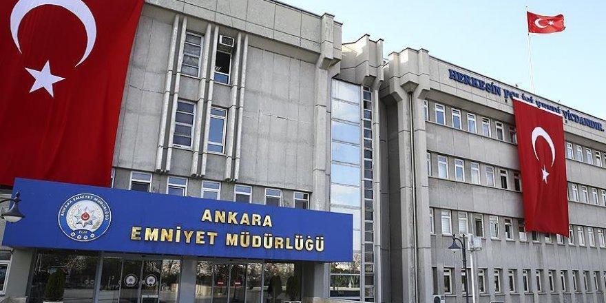 Ankara Emniyet Müdürlüğünde görev değişimleri