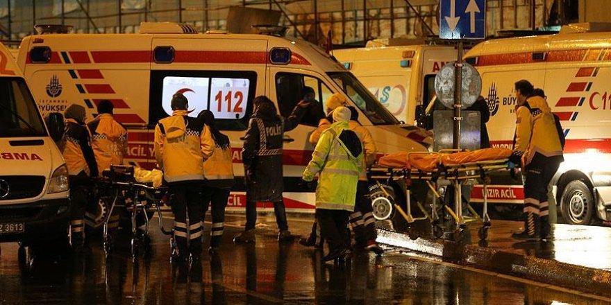 İstanbul'daki saldırıda yaralanan 32 kişinin tedavisi sürüyor