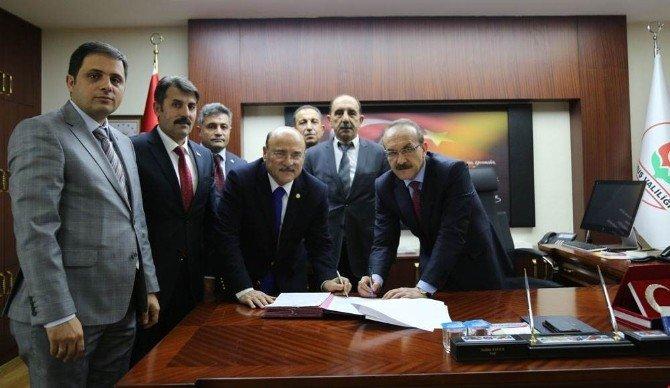 Muş Valiliğinde SDS imzalandı