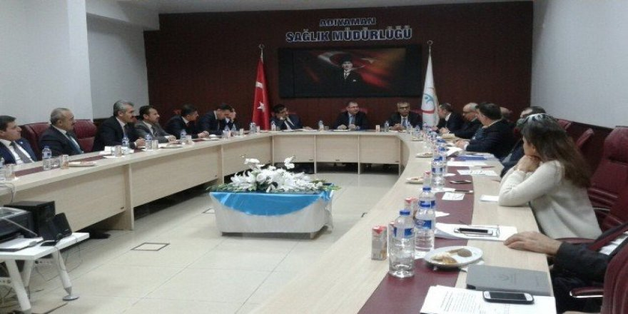 Sağlık koordinasyon kurulu toplandı
