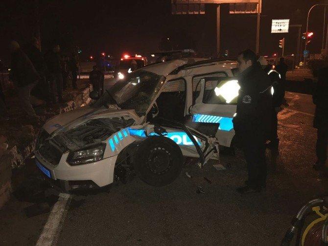 Nazilli'de şüpheli araç kovalayan polis aracı kaza yaptı: 2 şehit