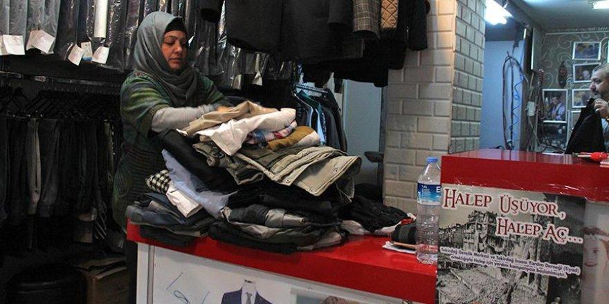 Unutulan giysiler Haleplileri ısıtacak