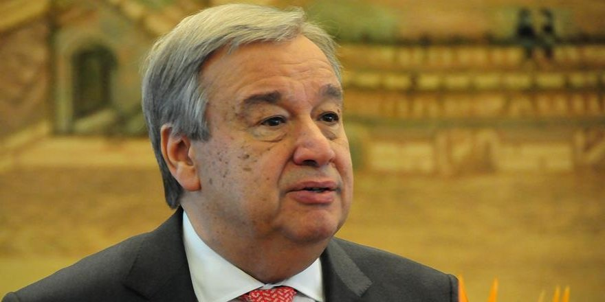 Guterres'ten 'Kıbrıs Konferansı' açıklaması
