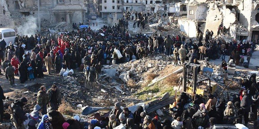 BM, Doğu Halep'teki 116 bin kişi için endişeli
