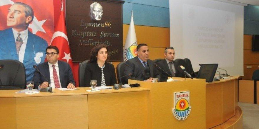 Tarsus Belediye Meclisi 2017 yılının ilk toplantısını yaptı