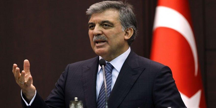 Abdullah Gül, katılmadı! Mesaj yolladı