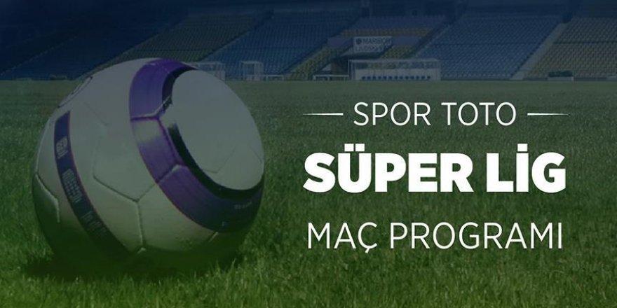 Spor Toto Süper Ligde 5 haftalık program açıklandı